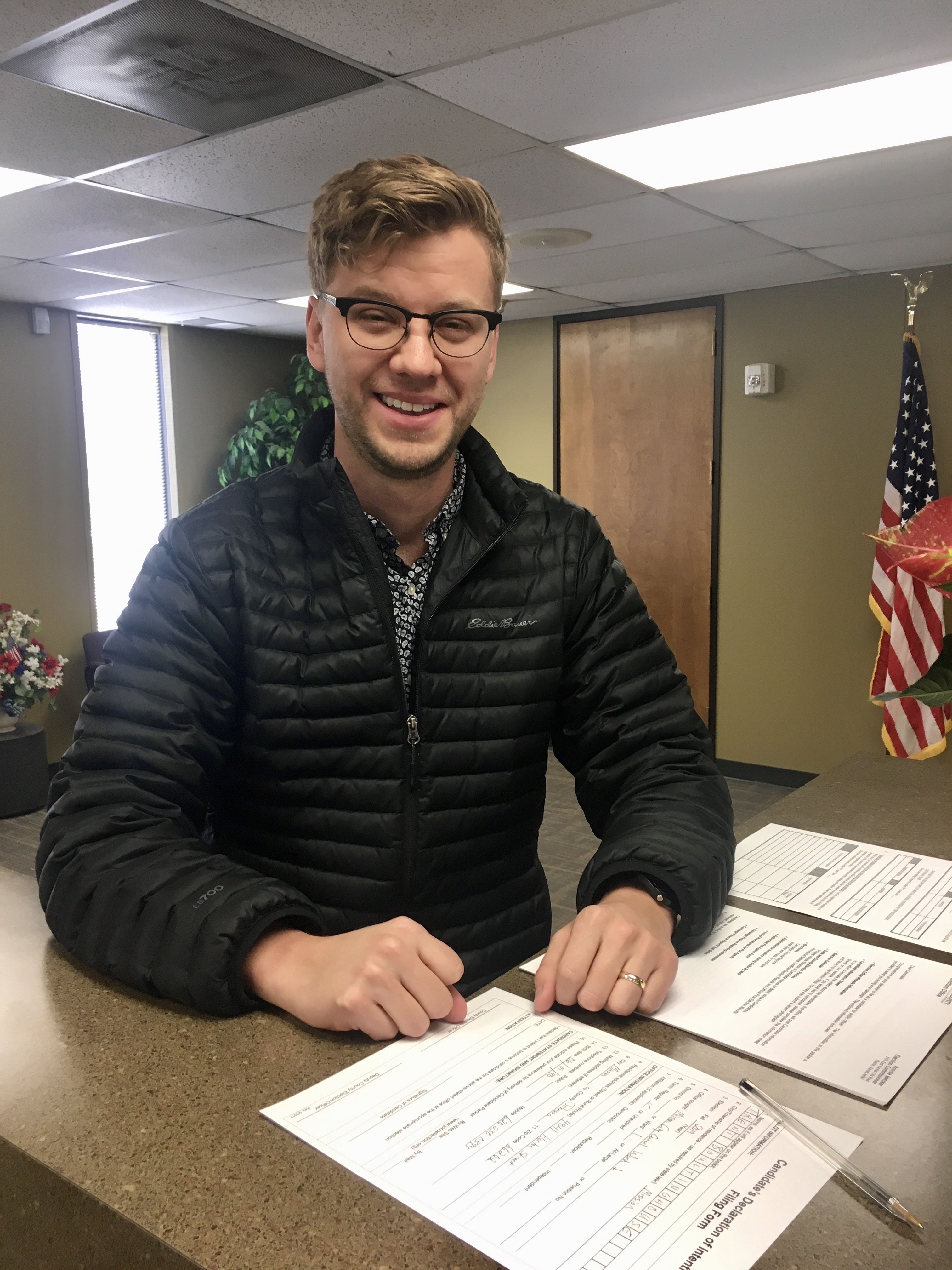 Trent Boultinghouse Files for Mission City Council